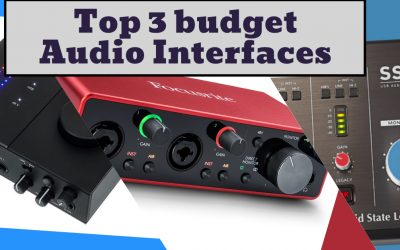 The 3 Best Budget Audio Interfaces Under $200