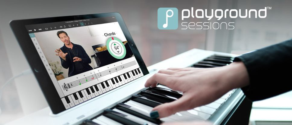 Playground sessions Piano learning app