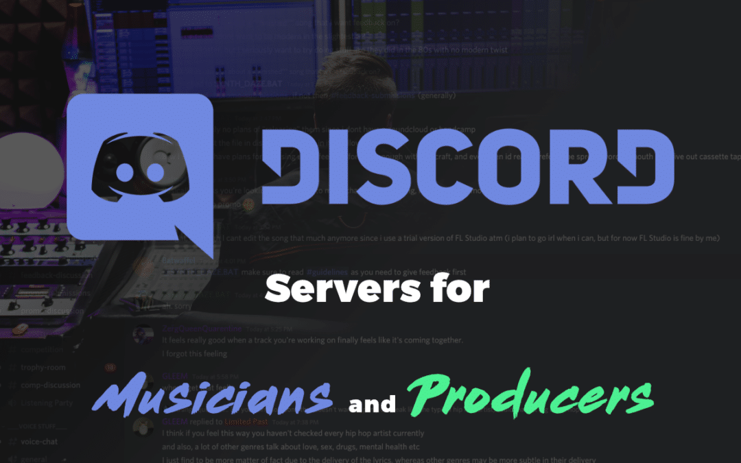 Best Discord Servers for Musicians and Producers